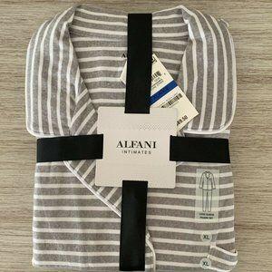 NWT! Alfani Printed Long-Sleeve 2pcs Pajama Set